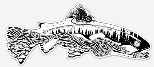 Nate Karnes The Remedy - Elements of Fly Fishing Decal