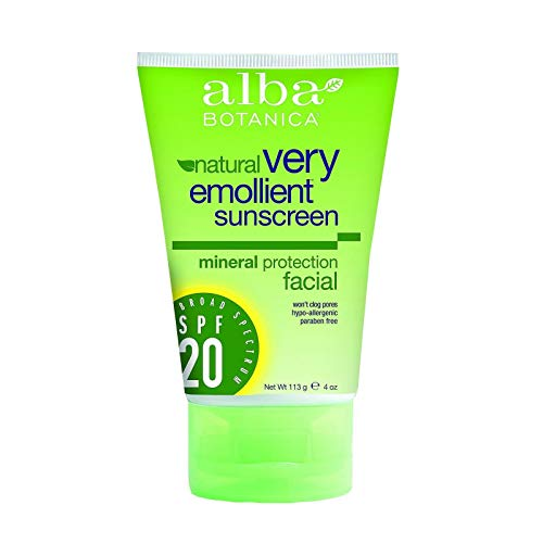 (Alba Botanica Mineral Sunscreen Facial SPF 20-4 fl oz)