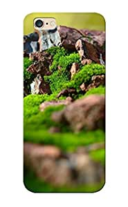 Charlesvenegas Fashion Protective Mossy Rocks Case Cover For Iphone 6 Plus