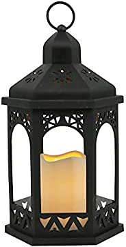 Lanterna C/Led Adely Preto