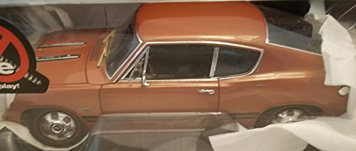 1968 Plymouth Barracuda Highway 61 Collectibles 1:18 Die-Cast Metal Car Rust Color with Silver (Rust Trim)