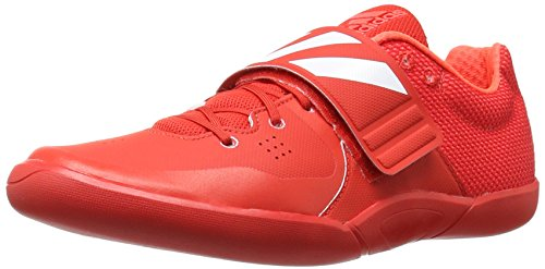 adidas Performance Adizero Discus/Hammer Track Shoe, Red/White/Infrared, 11 M US by adidas