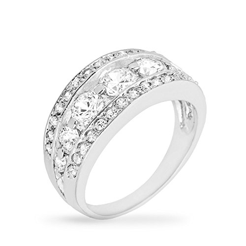 Buy j goodin tiered anniversary ring size 5