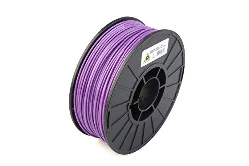 LulzBot ABS 3D Printer Filament, 3 mm Diameter, 1 kg Spool, Medium Purple by LulzBot