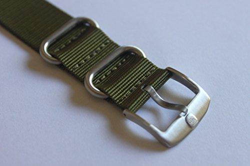 Genuine OEM Luminox 22mm NATO/ Zulu Strap Band - Military Green Fit Luminox 3050 3950 SEAL NAVY EVO COLORMARK FN.3900.60.2 by Luminox (Image #1)