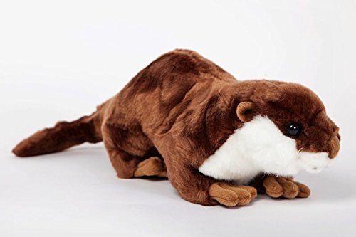 River Otter Stuffed Plush Animal - Cabin Critters North American Wildlife Collection American Wildlife Collection