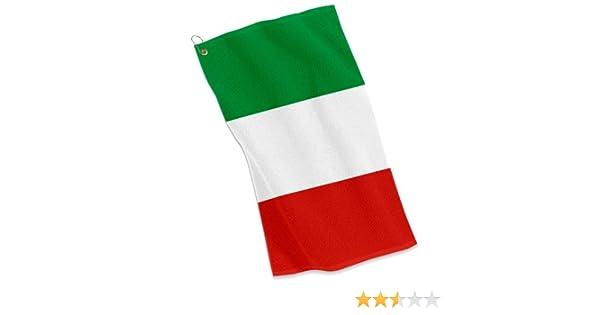 Deportes Golf/Toalla – bandera de Italia – Italiano, Italia: Amazon.es: Deportes y aire libre