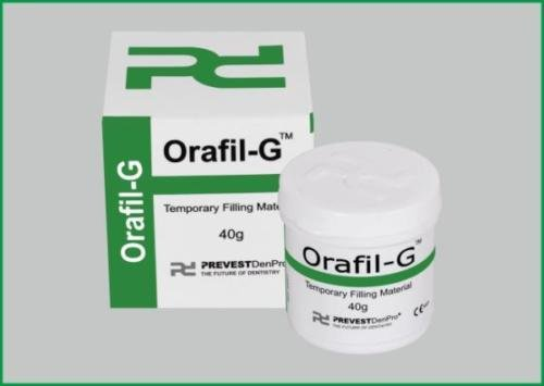 Temporary Filling Material - Dental Temporary Filling Material - Orafil G Jar Pack
