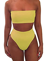 Amazon.com: Yellows - Swimsuits & Cover Ups / Clothing