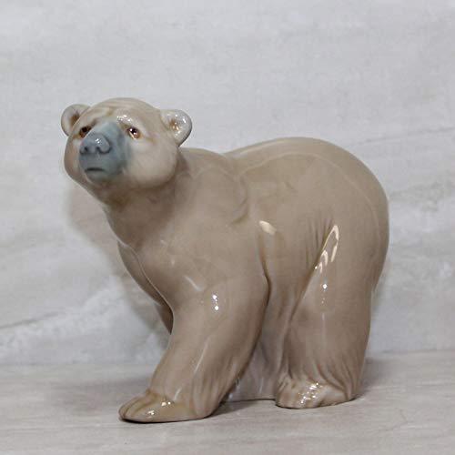 Lladro Figurine, 1204 Attentive Bear
