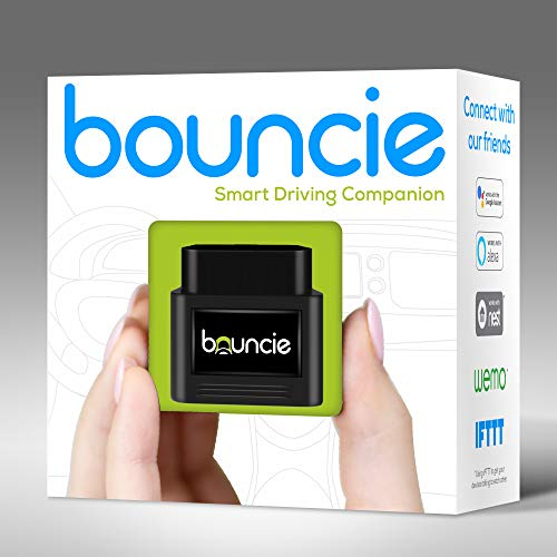 Bouncie - Connected Car - OBD2 Adapter - $8 Monthly 3G Service Req'd - Location Tracking, Driving Habits, Alerts, Geo-Fence, Diagnostics - Family or Fleets - Alexa, Google Home, IFTTT