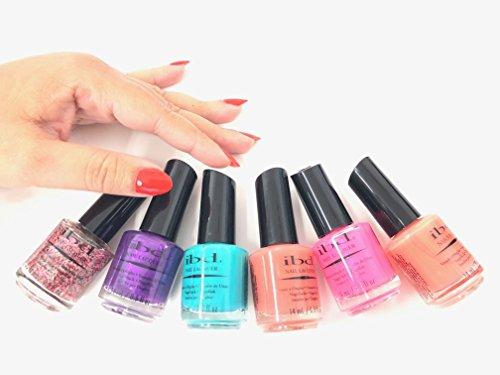IBD Nail Polish Lacquer - 6 pack Color Combo !! -