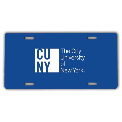 CUNY License Plate 'Official Logo' by CollegeFanGear