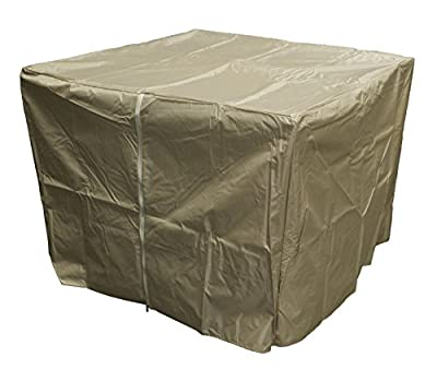 Hiland Heavy Duty Square Fire Pit Cover