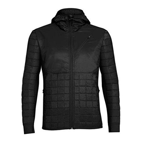 [アイスブレーカー] メンズ ジャケット&ブルゾン Helix Long Sleeve Zip Hooded Jacket [並行輸入品] B07DJ1PRYB L