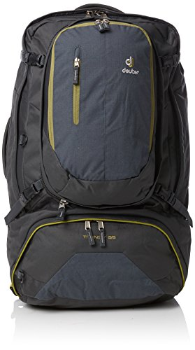 - Deuter Transit 65 Backpack (Anthracite/Moss)
