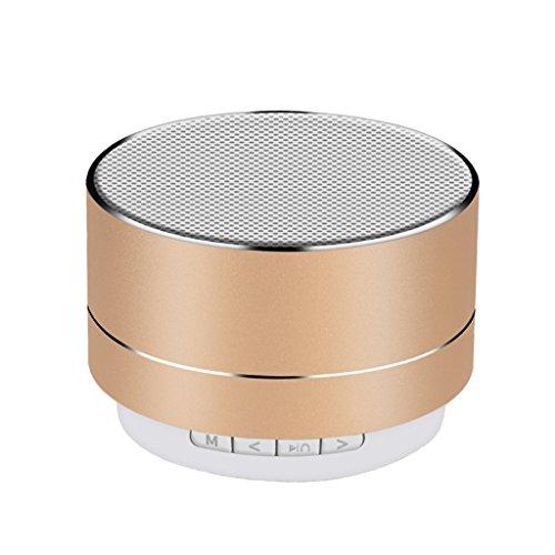 Cherlvy Bluetooth Soud Box Mini Wireless Woofer Portable Plug-in Card Audio Loudspeaker Boxes by Cherlvy