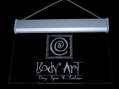Body Art Day Spa & Salon Shop Led Light Sign