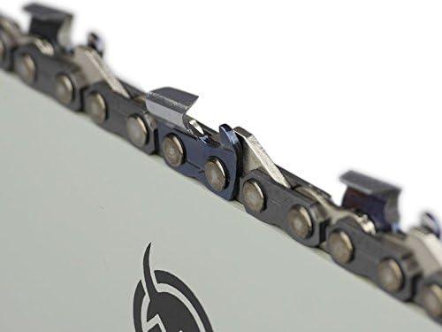 S/ägenspezi Guide de 50cm .325 78 maillons 1,5mm et 2 cha/înes /à gouge semi-carr/ée pour Husqvarna 36