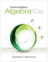 Intermediate Algebra, 10th Edition Front Cover