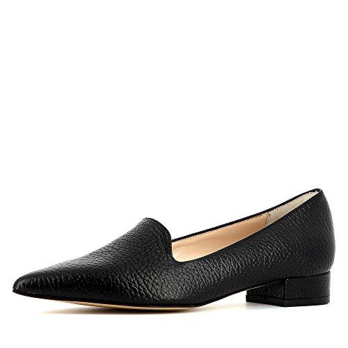 Evita Shoes Franca - Mocasines de Piel para mujer negro