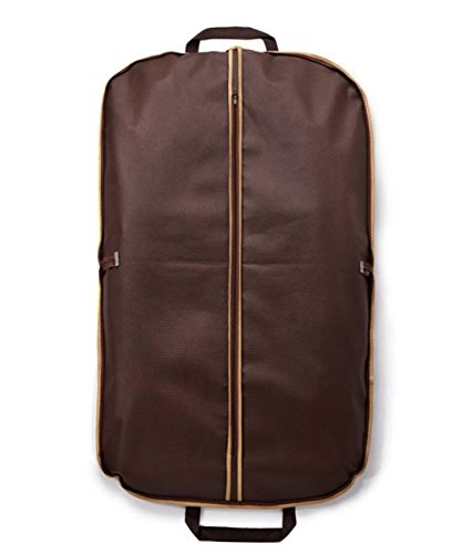 Suit Cover Carrier Bag Foldover Breathable Garment Cover Travel Bag with Carry Handles and Metal Eyehole for Folding for Suits Dresses Tuxedos Coats /& More,100cm*60cm(40 * 24 inch)