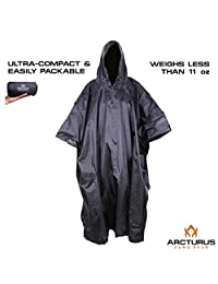 Arcturus™ Super Lightweight Rain and Wet Weather Multi-Use Camo Poncho