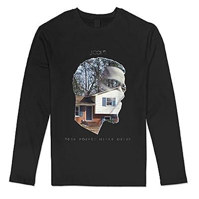Men's J. Cole 2014 Forest Hills Drive Cool Long Sleeve T Shirt