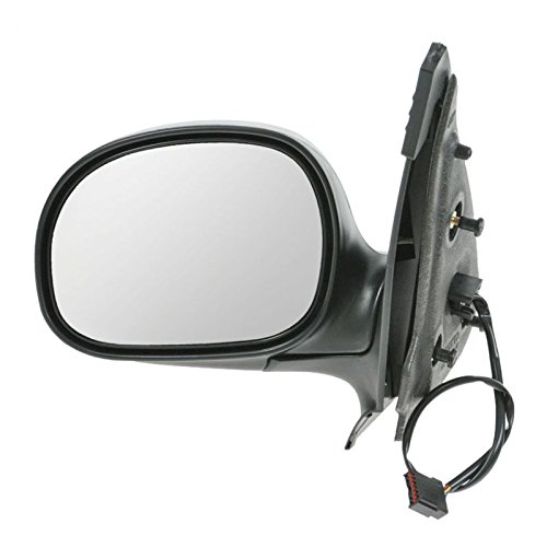 Power Mirror Black & Chrome LH Left Driver Side for Ford Expedition F150 Pickup ()