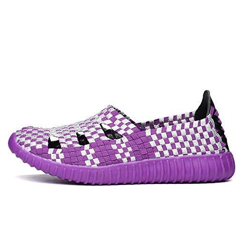 couleur 39 Rouge Eu Violet Qiusa Chaussures Taille Awq5x4z1