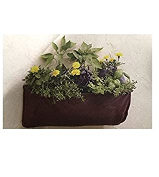 Garden Treasures Plant Wall Trough Planter Pocket 24u0026quot;L X 9u0026quot ...