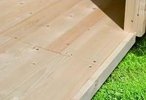 Suelo 19mm natural Wood Feeling Jardín Casa Socket de Métrica 460x 310cm