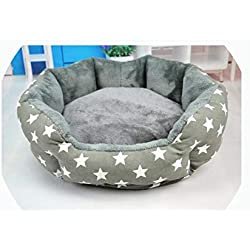 Sunny-Aha Pet Dog Bed|Soft Pet Pad Cushion Furniture Puppy Blanket Pet Bed Removable Pillow,Gray,XL