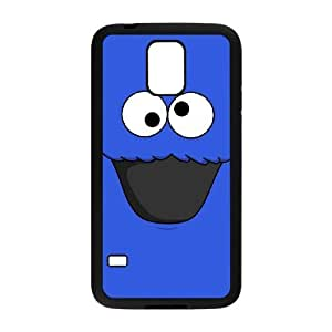 Samsung Galaxy S5 Cell Phone Case Black Cookie Monster quid