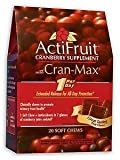 Enzymatic Therapy Actifruit With Cran-Max – 20 soft chews, 6Pack For Sale