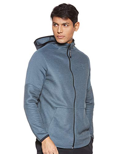 Under Armour Unstoppable Move Light FZ Parte Superior del Calentamiento, Hombre, Gris, MD