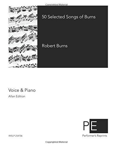 Read Online 50 Selected Songs of Burns ebook