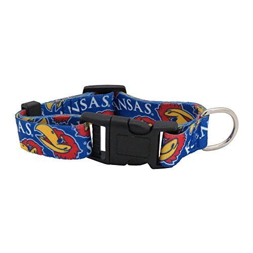 NCAA Kansas Jayhawks Team Pet Collar, Small ()