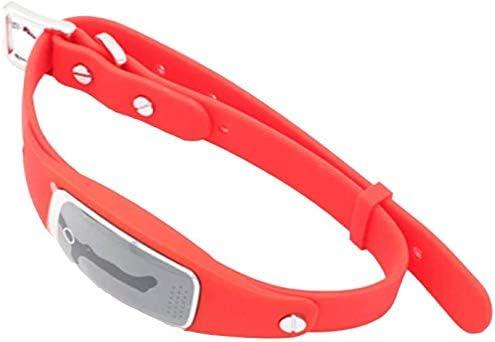 防水GPSロケータミニチュア赤、以下の抗失われたアンチ失われたペット,赤