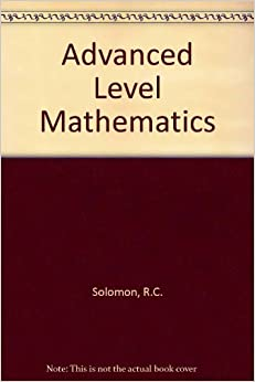 Advanced Level Mathematics