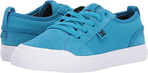(DC Boys' Evan Skate Shoe, Blue, 5 M US Big Kid)
