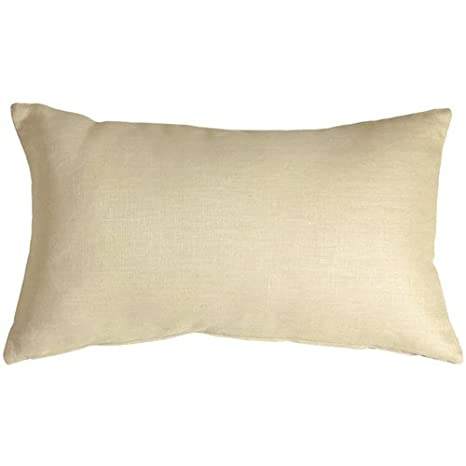 Amazon.com: Almohada Decoración Toscana – Crema 12 x 20 ...
