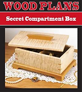 SECRET COMPARTMENT JEWELRY BOX WOODWORKING PAPER PLAN ...