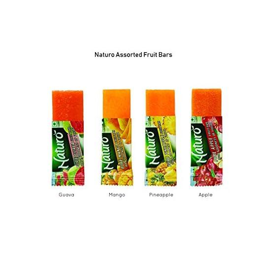 Naturo Assorted Fruit Bar 11g- Pack of 36