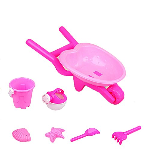 s-ssoy-7-pieces-beach-toy-set-carts-rake-shovel-bucket-watering-can-and-2-molds-sand-toy-mengniu-9-p