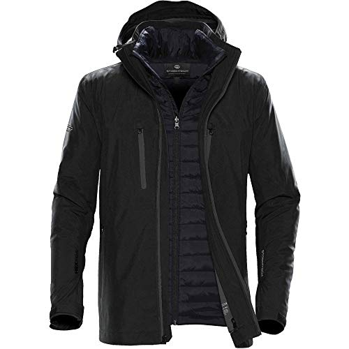 Stormtech Mens Matrix System Jacket (M) (Black/Carbon)