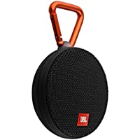 JBL Clip 2 Waterproof Portable Bluetooth Speaker - Black (Certified Refurbished)