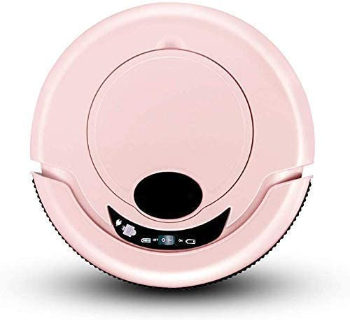 SEESEE.U Robot de Nettoyage Aspirateur Robot pour balayeuse Intelligente pour vadrouilles sèches et humides domestiques, aspirateur (Couleur: Or) Pink