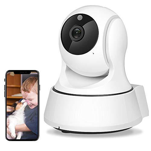 AIMECOR WiFi Camera, 1080P IP Security Camera, Wireless WiFi Home Indoor Camera for Baby/Pet/Nanny, Motion Detection, 2 Way Audio Night Vision,Two-Way Audio Compatible with iOS & Android