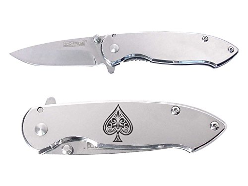 - Tac-Force 3'' Spring Assisted Pocket Knife TF862C NDZ Ace of Spades